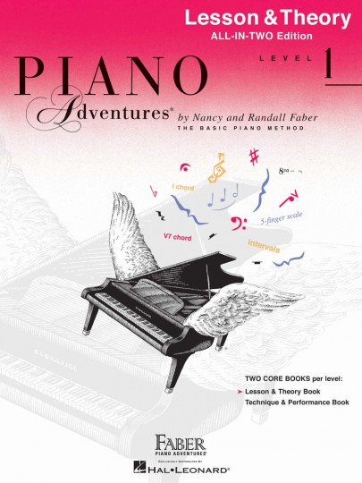 1 adult level piano theory