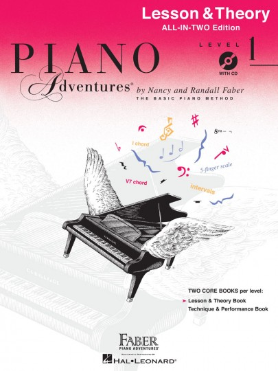 Piano Adventures® Level 1 Lesson & Theory Book with CD