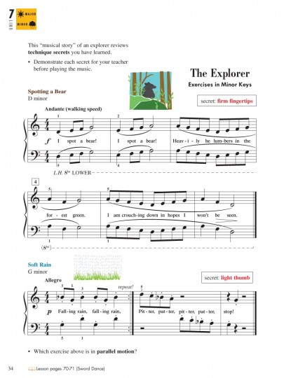 Piano Adventures® Level 2A Technique & Performance Book