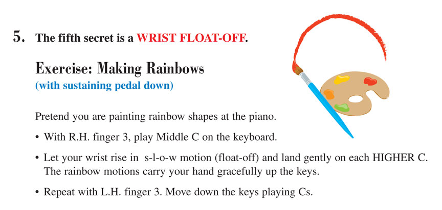 Level 2A Technique Secret exercise Making Rainbows