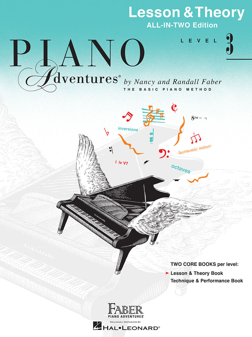 Piano Adventures® Level 3 Lesson & Theory Book