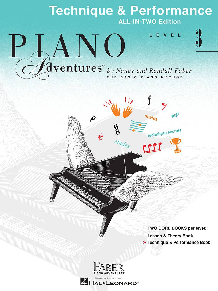 Piano Adventures® Level 3 Technique & Performance Book