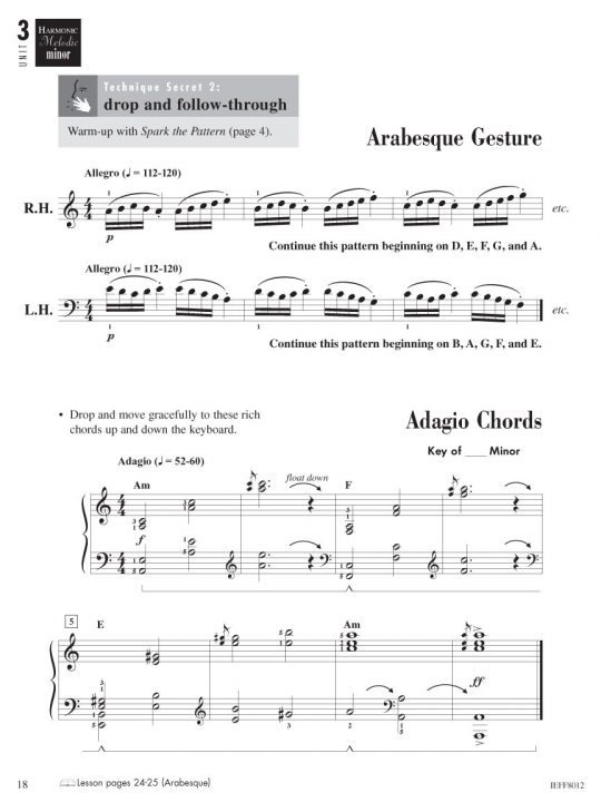 Piano Adventures® Level 4-5 Technique & Performance Book