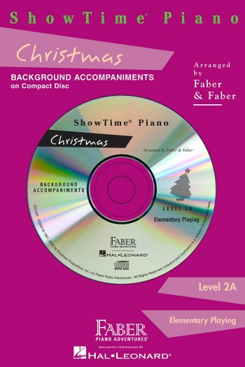 ShowTime® Piano Christmas CD