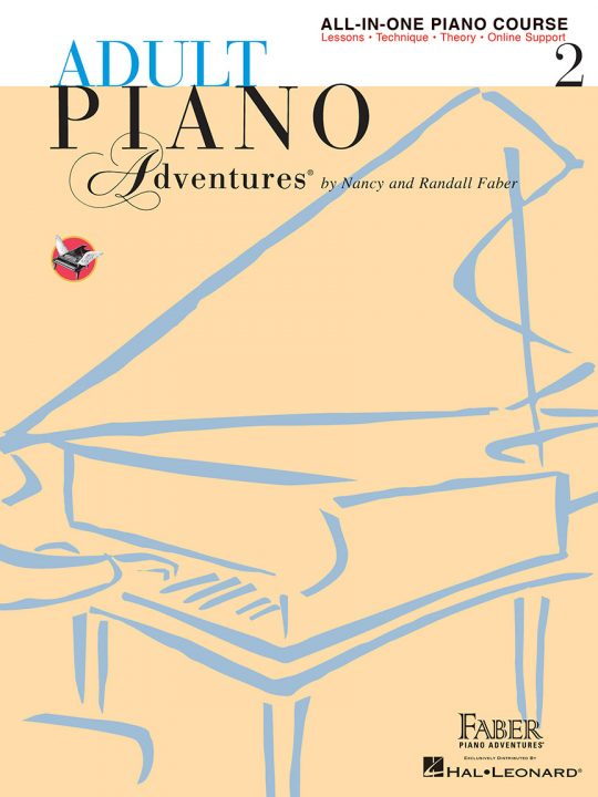 Adult Piano Adventures® All-in-One Course Book 2