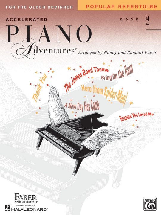 Accelerated Piano Adventures® Popular Repertoire Book 2