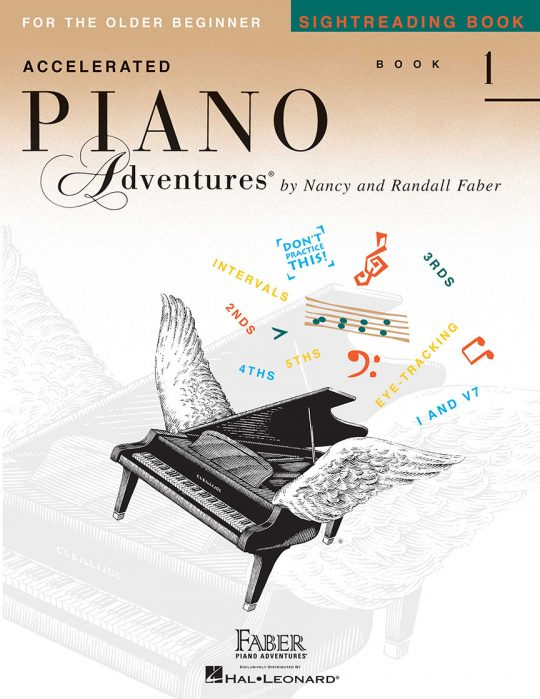 Accelerated Piano Adventures Sightreading Book 1