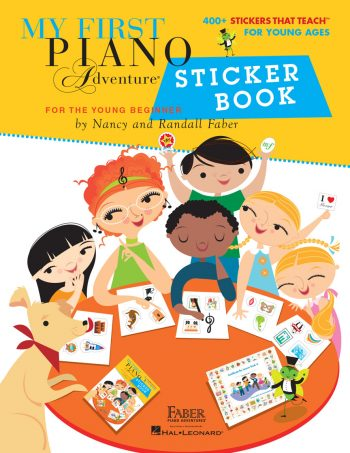 My First Piano Adventure Sticker Book