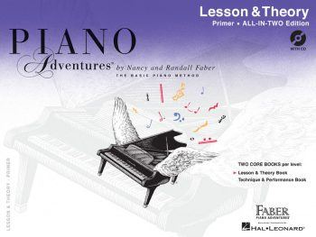 Piano Adventures® Primer Level Lesson & Theory Book with CD