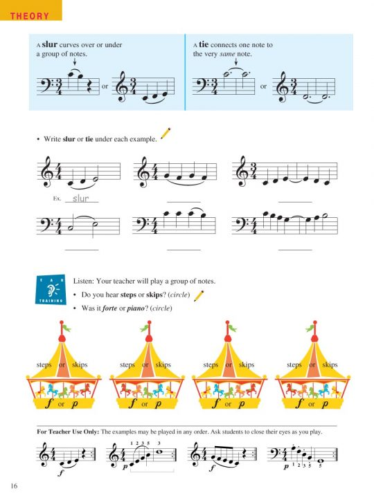 Piano Adventures® Level 1 Lesson & Theory Book