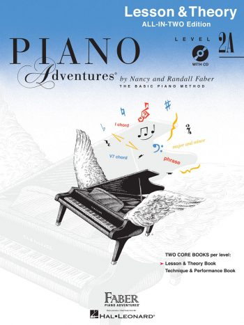 Piano Adventures® Level 2A Lesson & Theory Book with CD