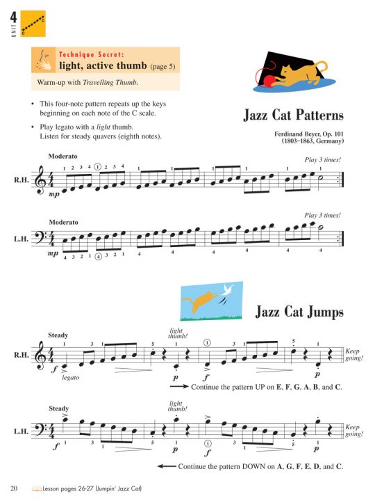 Piano Adventures® Level 2B Technique & Performance Book