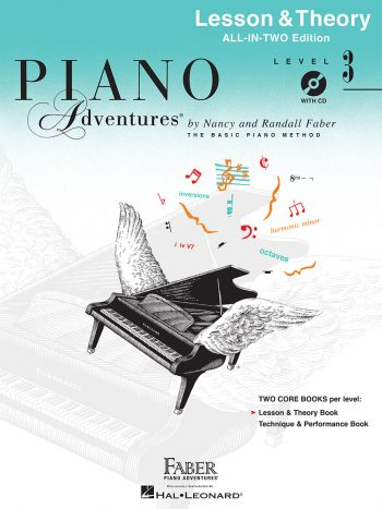 Piano Adventures® Level 3 Lesson & Theory Book with CD