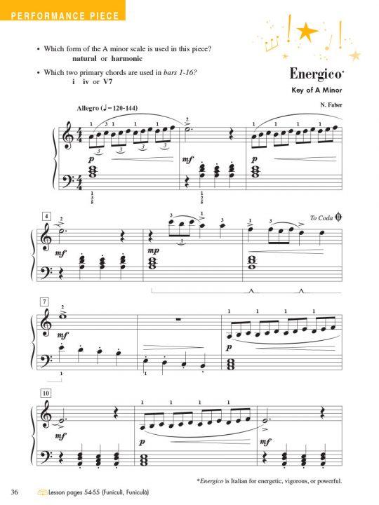 Piano Adventures® Level 3 Technique & Performance Book