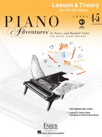 Piano Adventures Level 4-5 Lesson & Theory Book
